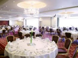 The Bristol hotel ballroom