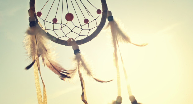 Image of a dream catcher