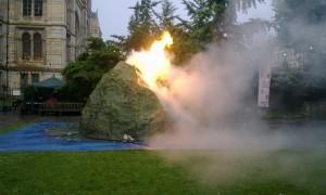 Volcano at Universities Week launch