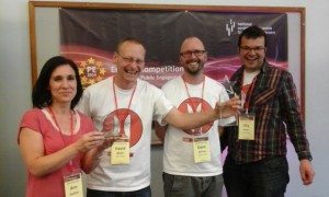 Winners at Engage competition